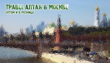 Травы Алтая в Москве